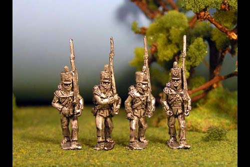 British Light Infantry Marching Stovepipe Shako 12 figs