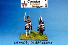 2 Cavalry Generals (1 in Bicorne & 1 in Busby)