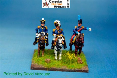 Jerome Bonaparte with Colonel & ADC