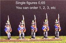 Single Figures Flank Co Marching