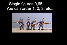 Single Figures Skirmish Flank Co