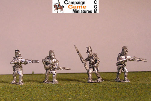 Grenzer Light Infantry Skirmishing/ Firing Line