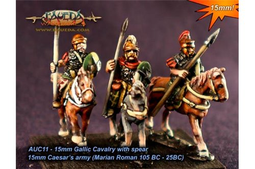 Gallic Cavalry with spears