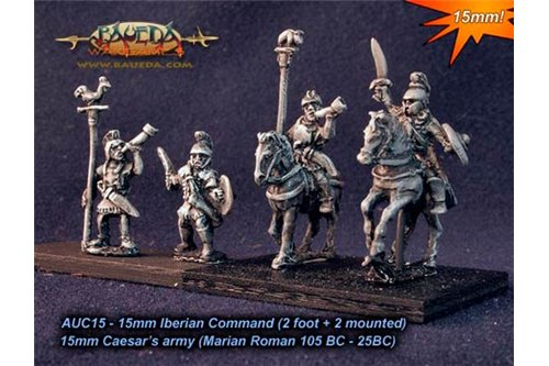 Iberian Command (2 foot + 2 mounted)
