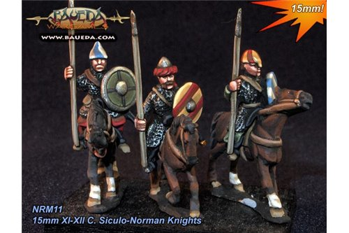 XI-XII C. Siculo-Norman Knights and sergeants