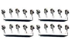 Convertion pack with heads with beret for RSI or Parachutists. (20 per pack)