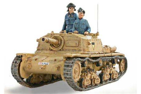 Italian Self propelled gun  Fiat Ansaldo 75/18 M41