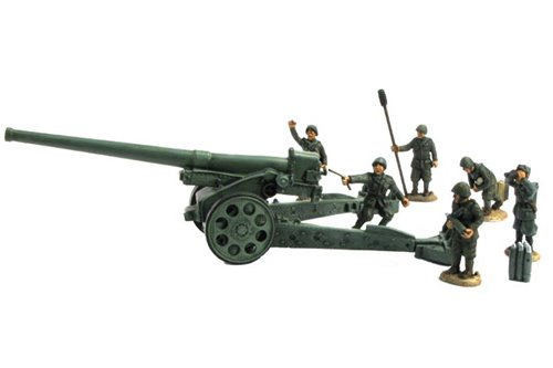 Italian Crew for Heavy Cannons in Continental Uniform