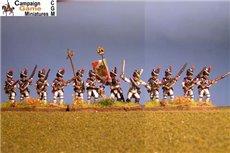Italian Guard Velite Chasseurs/Carabinier (Veliti Reale) Advancing.