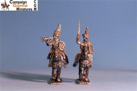Polish Hussars Command x4