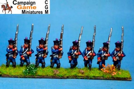 Line Infantry no shako plate Marching