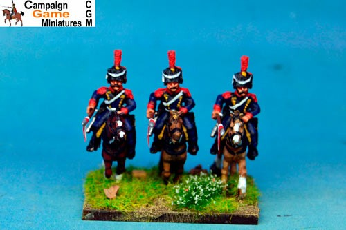 Polish Elite Lancers Charging Colpack x 2
