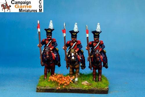 Polish Elite Lancers Lance Up Czapka x 2