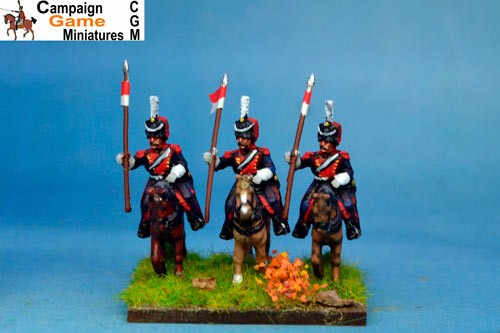 Polish Elite Lancers Lance Up Colpack x 2