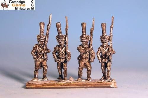 Grenadiers / Voltigeurs, Chords & Plumes Marching