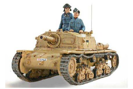 Italian Self propelled gun Fiat - Ansaldo 75/18 M41