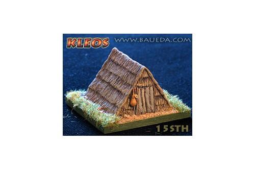 Medieval straw hut