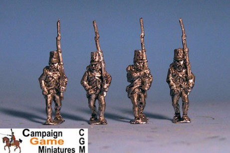 Grenzer Light Infantry Marching with Command