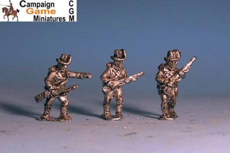 Austrian Jagers Advancing