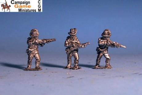 Austrian Jagers Firing Line / Skirmishing