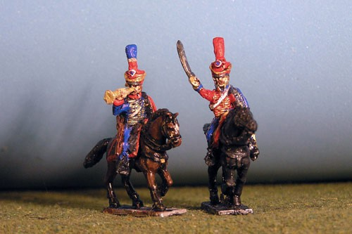Hussar Command Chords & Plume