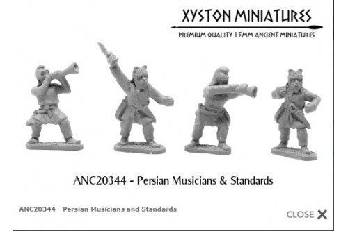 Persian Musicians and Standard