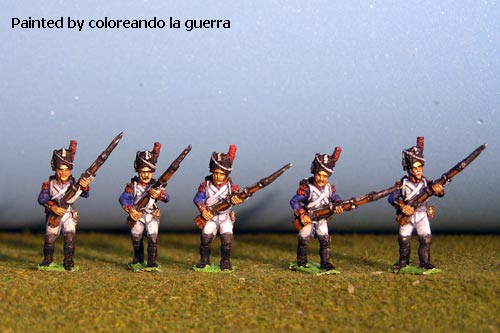 Grenadiers  / Consular Guard Advancing in Bearskin