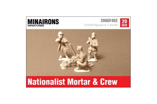 Nationalist Mortar & Crew