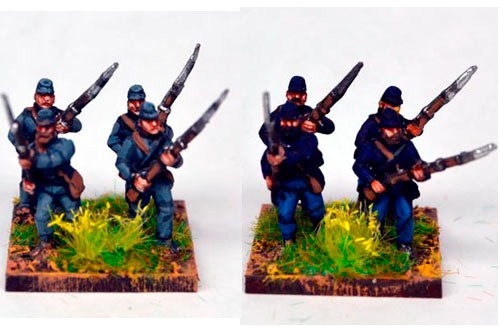 Infantry in Kepi Advancing
