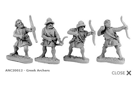 Greek Archers (random 8 of 4 designs)