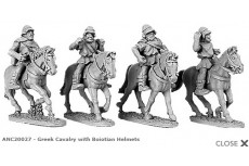 Greek Cavalry with Boiotian helmets (random 4 of 4 designs)