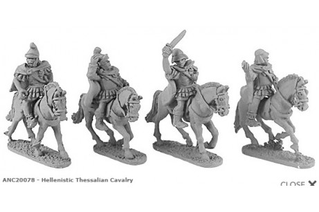 Hellenistic Thessalian Cavalry (random 4 of 4 designs)