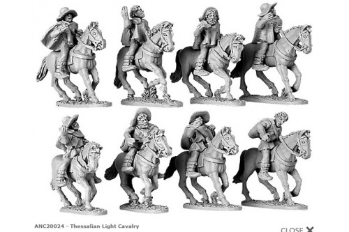 Thessalian Light Cavalry  (Random 4 of 8 designs)