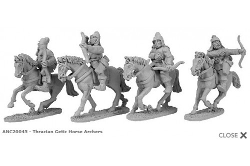 Thracian Getic Horse Archers (random 4 of 4 designs)