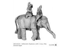 Hellenistic Elephant w/crew astride second version