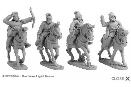 Bactrian Light Horse (random 4 of 4 designs)