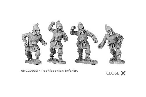 Paphlagonian infantry (random 8 of 4 designs)