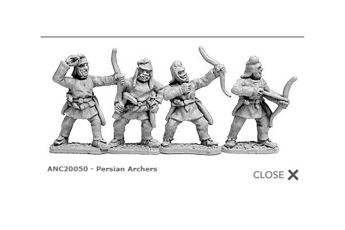 Persian Archers (random 8 of 4 designs)