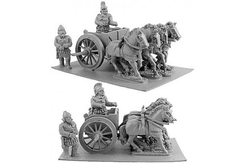 Persian Scythed Chariot w/choice of two crew