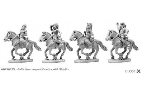 Unarmoured gaul cavalry