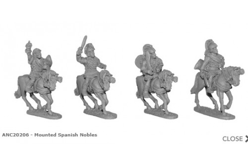 Mounted Spanish Nobles