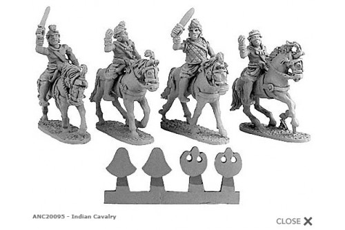 Indian Cavalry (Random 4 of 4 designs)