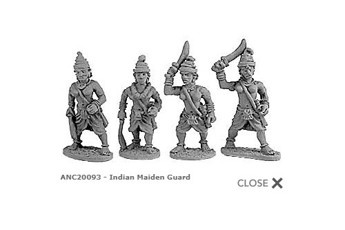 Indian Maiden Guard (Random 8 of 4 designs)