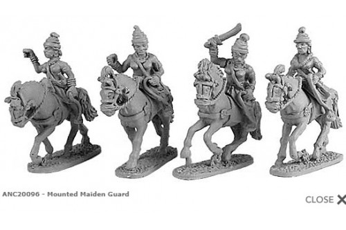 Mounted Maiden Guard  (random 4 of 4 designs)