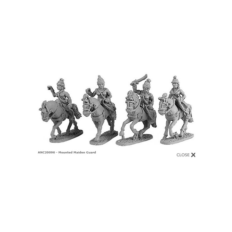 MPA46 Classical Indian: Maiden Guards | Essex Miniatures