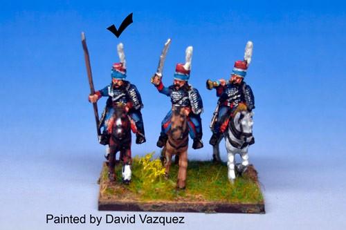 Hussars Standard Bearer in Mirliton