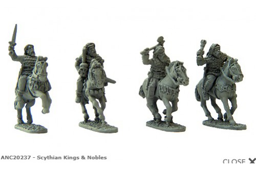 Scythian Kings & Nobles