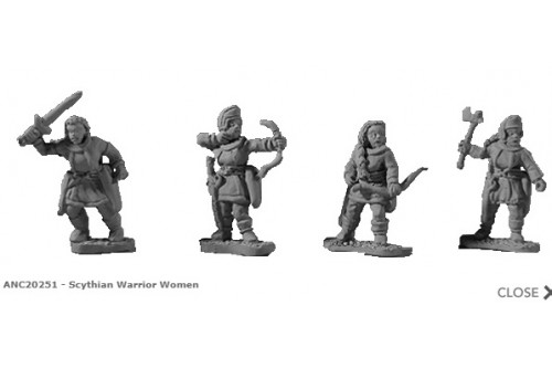 Scythian Warrior Women