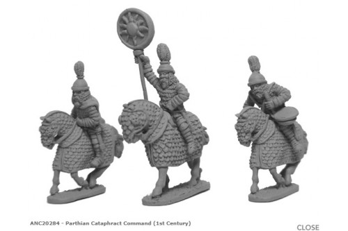 Parthian Cataphract Command (1st Century)