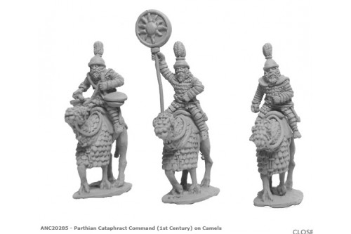 Parthian Cataphract Command (1st Century) on Camels